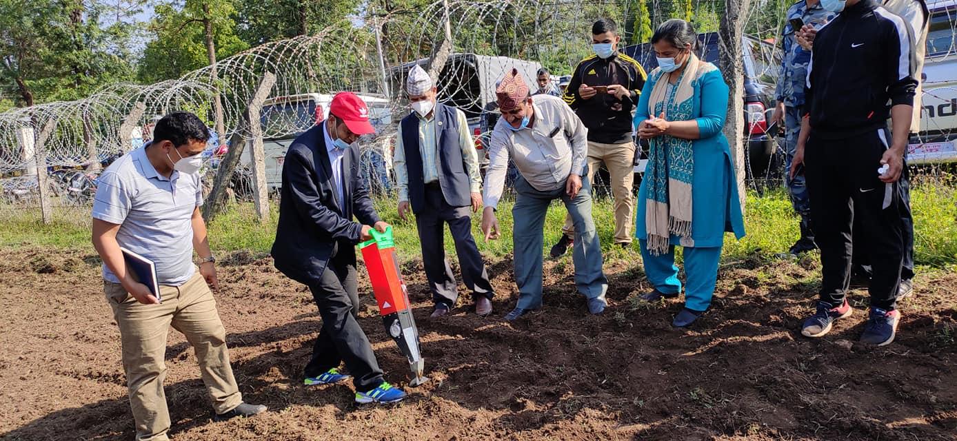 कर्णालीमा बाझो जमीनमा उत्पादन अभियानः हरेक महिनाको दुइ दिन कृषिमा श्रमदान