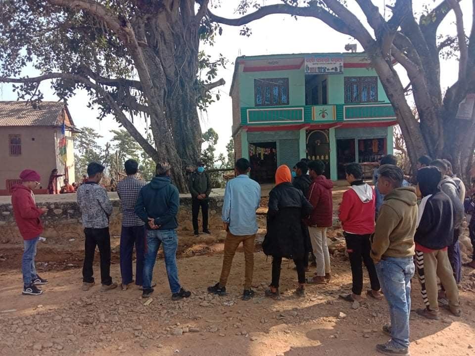 विप्लव नेकपाद्वारा गिरफ्तारीको बिरोधमा तुलसीपुरमा प्रदर्शन